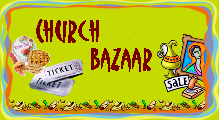 Enjoy the Bazaar – All welcome!