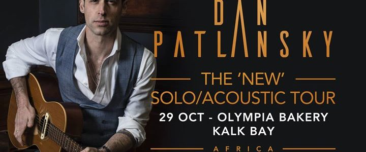 The 'NEW' Solo/Acoustic Tour – Olympia Bakery, Kalk Bay